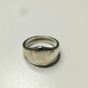 Vintage Modernist MEXICO TF-34  Sterling RING SZ 7